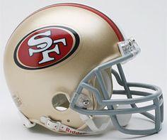 San Francisco 49ers Replica Mini Helmet w/ Z2B Face Mask $28.95 http://www.mysportsdecor.com/san-francisco-49ers-mini-helmet-z2b-face-mask.html #sanfrancisco49ers #sanfrancisco49ersminihelmet #sanfrancisco49ersmerchandise