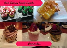 A look at some of the best cupcakes at Disney World!