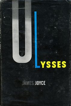 Ulysses book jacket by E. McKnight Kauffer 1946.  Pretty sure this is the book jacket on my mom's copy
