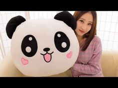 Quality huge 100 cm prone Panda plush toy doll hugging pillow christmas gift with free worldwide shipping on AliExpress Mobile Funny Pillows, Cute Pillows, Diy Pillows, Diy Arts And Crafts, Felt Crafts, Panda Pillow, Doll Toys, Dolls, Panda Love