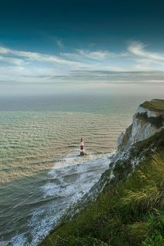 0rient-express: Sunset at Beachy Head | by Adam Barnes.