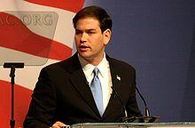 Marco Rubio - Florida senator- Conservative - Tea Party values