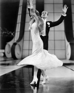 Ginger Rogers & Fred Astaire in Follow the Fleet(Mark Sandrich, 1936), Face the Music and Dance