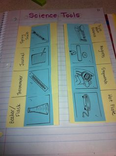 lab safety foldable for isn