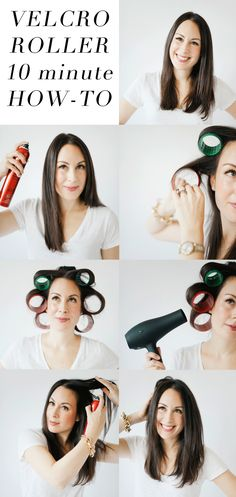 how to use velcro rollers (going old school!)