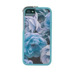 Great Garden roses,blue iPhone 5/5S Case