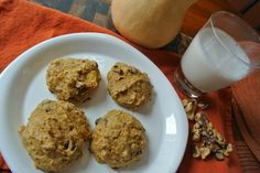 Butternut Squash and Chocolate Chip Cookies (Gluten Free)
