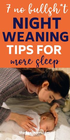 Night Weaning Tips to Help You and Baby Finally Sleep Through the Night Are you ready to night wean Toddler Sleep, Baby Sleep, How To Night Wean, Formula Fed Babies, Baby Weaning, Breastfeeding And Pumping, Sleeping Through The Night, Gentle Parenting, Parenting Tips