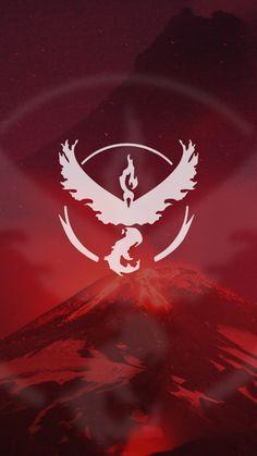 Pokemon Go Team Valor Red Wallpaper