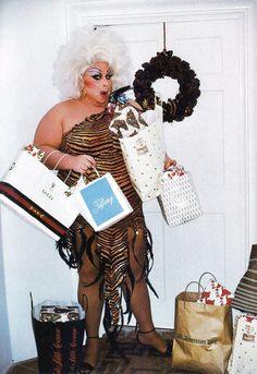 Shop til you drop this Christmas!!! Divine. Photo: Bill Bernardo