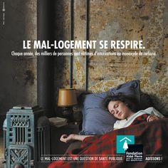 Le mal-logement se respire - Campagne de sensibilisation 2015 de la Fondation Abbé Pierre