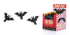 Spooky Bat Pegs : Sleeping vampire bats, useful clips.