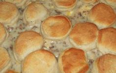 Miss Famous Recipes: Biscuits and Gravy Breakfast Casserole