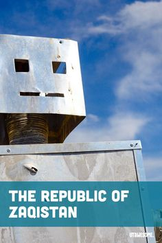 The Republic of Zaqistan | UTAWESOME Stuff To Do, Things To Do, Satellite Maps, Side Road, Guy Names, The Republic, Family Camping, Installation Art, Perfect Place