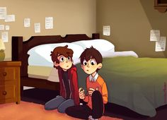 Dipper and Wirt Gravity Falls & Over The Garden Wall Gravity Falls Crossover, Best Crossover, Fandom Crossover, Tim Burton, Gravity Falls Personajes, Me Anime, Anime Art, Garden Falls, Grabity Falls