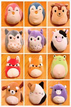"""amazon squishmallow 8"""" plush animal pillow pet"""