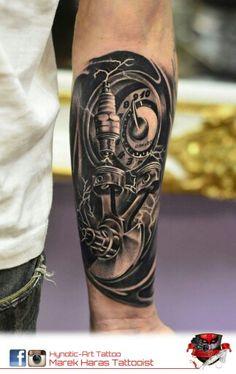 46 Meilleures Images Du Tableau Tatouages De Moto Skull Tattoos