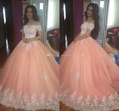 long prom dresses - Coral Masquerad Ball Gown Quinceanera Dresses Boat Neck Short Sleeve Corset Sweet 16 Dress Party Prom Evening Gowns Vestido De 15 Anos Cheap White Dresses Dama Dresses From Vestidobridal, &Price; DHgate Com Dama Dresses, Quince Dresses, Prom Party Dresses, Party Gowns, Dress Party, Occasion Dresses, Wedding Dresses, Girls Dresses, Sweet 15 Dresses