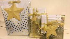 Cómo envolver regalos fácil y original Easy Diy Gifts, Homemade Gifts, Teacher Favorite Things, Ideas Para, Party Time, Wraps, Gift Wrapping, Paper, Handmade