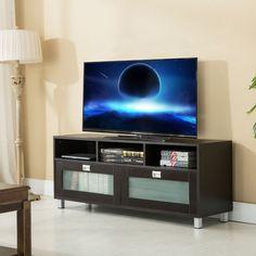 TV Stand Cabinet Media Center Console Wood Storage Home Entertainment Furniture #Uenjoy #Modern