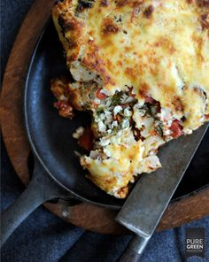Switch cottage cheese for ricotta, switch no-bake noodles for regular noodles.  Vegetarian Lasagna @Sarah Chintomby Shook