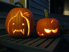 Bwahahahahaha! I just found my Halloween pumpkin idea! Edward & Alphonse — FMA