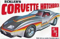 AMT Eckler's Corvette Hatchback  box art
