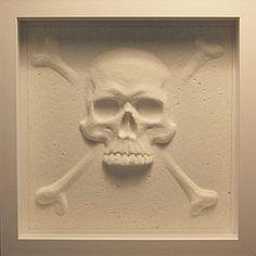 Paper Skull and Crossbones by Cocoa Dodo £50