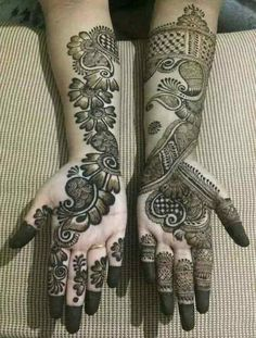 wedding decoracin wedding decoracin New Pakistani Bridal Mehndi Designs For 2019 Henna Hand Designs, Dulhan Mehndi Designs, Mehandi Designs, Mehendi, Mehndi Designs Finger, Arabian Mehndi Design, Simple Arabic Mehndi Designs, Stylish Mehndi Designs, Mehndi Designs For Girls