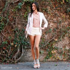 Check out Lace Embrace Femme Look by Nine Bird, Ark & Co., and Miztique  at DailyLook