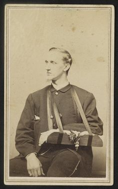 Major General William Francis Bartlett of Co. I, Massachusetts Infantry Regiment, Massachusetts Infantry Regiment, and Massachusetts Infantry Regiment in uniform with arm in sling. Library of Congress American Revolutionary War, American Civil War, Boston Pictures, Civil War Art, Major General, All Family, Family Trees, Military Academy, Civil War Photos