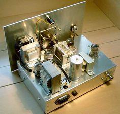 1-V-2 Kurzwellenempfänger fuer das 80m Band mit 4 x 12 SH 1 L von Juergen Dahms
