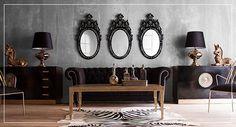 Fantoma de la Operă - Vivre Entryway Tables, Cabinet, Storage, Furniture, Home Decor, Room Ideas, Industrial, Silver, Gold