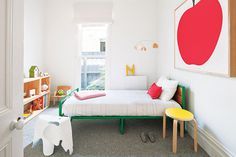 Kid's room by Made by Cohen | Minimal Bohemian Kid's Bedrooms on Sycamore Street Press