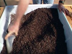 mix your own potting soil - 2 different recipes for established plants OR new seedlings...