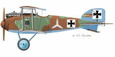 Albatros D.I - 1916