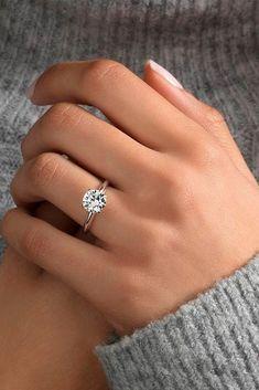 Beautiful Rose Gold Engagement Rings ★ See more: http://glaminati.com/beautiful-rose-gold-engagement-rings/ #weddingring
