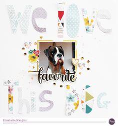 we love this dog - Scrapbook.com