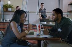 Lawrence And Tasha Insecure Top 10 Twitter Reactions  Lawrence and Tasha Insecurehook-up made viewers go crazy. Tasha the teller finally got exactly what she wanted. Lawrence was tired of being Mr. Nice Guy so he did what he had to do. Earlier this month HBO renewed Insecure for a second season and we can't wait! Will Issa and Lawrence get back together!?  Insecure's first season was unforgettable! This article presents the top 10 reactions to Lawrence finally knocking Tasha down.  Lawrence…
