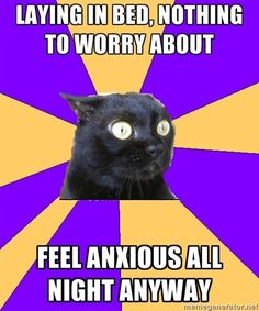 anxious all the time