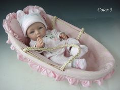 "silicone+baby+dolls | "" Reborn baby dolls Silicone vinyl doll Soft Toys handmade mini dolls ..."