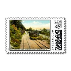 Switch Back Railroad, Mauch Chunk PA 1925. Pressed in infinite colors, Zazzle's railway postage is a amazing way to touch base. Pointed out above, markomundo's railroad composition is reproduced using special-grade printing technology that is known for the bewitching designs that it is able to provide. Only $19.95 per sheet of 20.