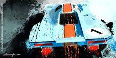 Porsche 917 K art by Michele Leonello