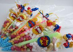 5-15 Superhero *Medium* sized sweet cones/party cones/party bags/loot bags