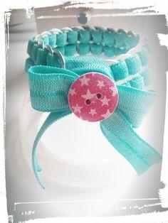 Bracelets, Bracelet en capsules de canettes recyclées est une création orginale…