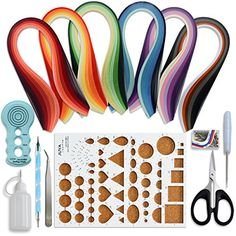 Juya Paper Quilling Kits with 30 Colors 600 Strips and 8 Tools (Paper Width:3mm, Blue Tools) JUYA http://www.amazon.com/dp/B017BFL6JU/ref=cm_sw_r_pi_dp_Uttxwb1D7904T