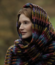 Ravelry: Soumak Scarf Wrap pattern by Lisa Richardson