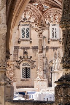 Bussaco Palace #Hotel balcony detail  #Portugal