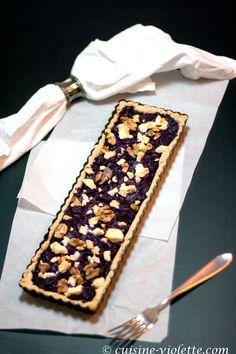 Rotkohl-Tarte   Cuisine Violette