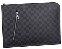 Louis Vuitton Damier Graphite Poche Documents